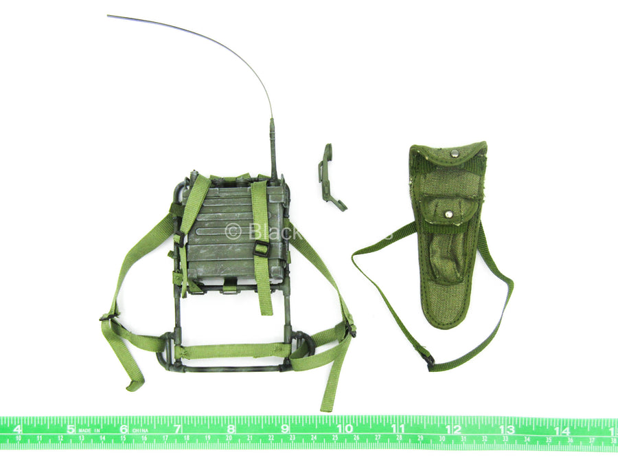 Vietnam Drang Valley - OD Green Alice Pack Frame w/Radio (Damaged)