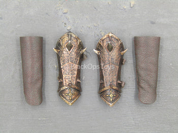 Viking Woman - Female Armored Gauntlets & Bracers