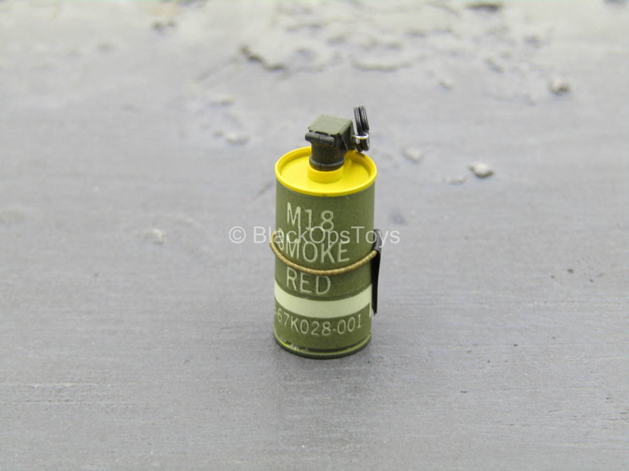 Iraq SOF - SAW Gunner - M18 Yellow Smoke Grenade