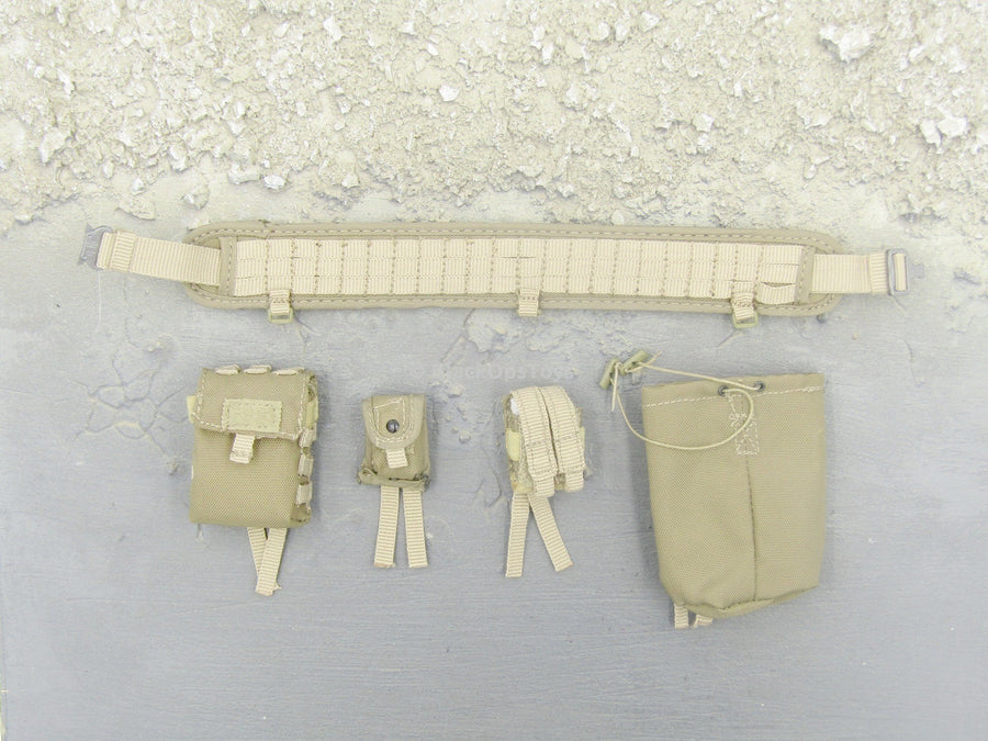 German Kommando - Desert Tan Gunner Belt Set