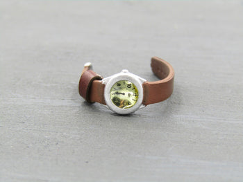Female Special Forces - Brown Wrist Watch
