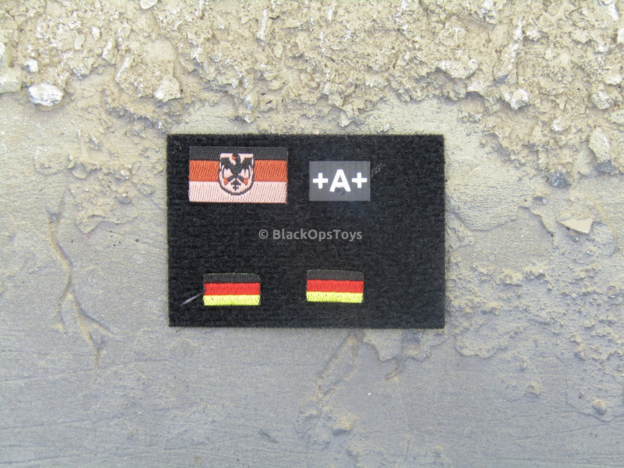 German Kommando - Flag Patch Set