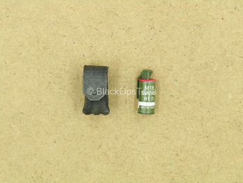 1/12 - Delta Force - Rifleman - Red Smoke Grenade w/Pouch