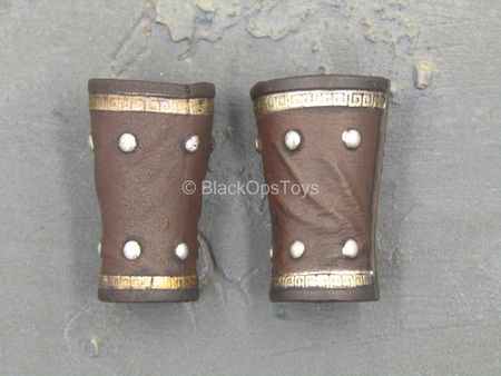 Roman Aquilifer - Brown Wrist Gauntlets