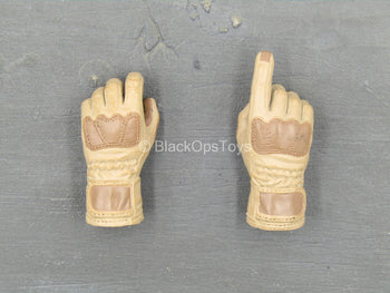 Special Force - Mountain Sniper - Brown & Tan Gloved Hand Set