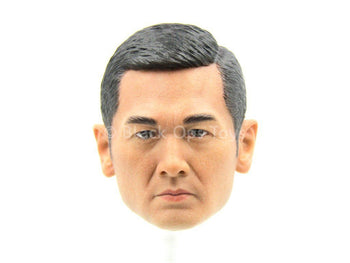 Hong Kong Police Force Escort Group - Asian Male Head Sculpt