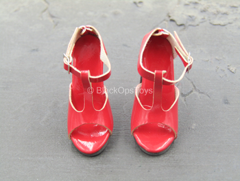 Red High Heel Shoes (Foot Type)