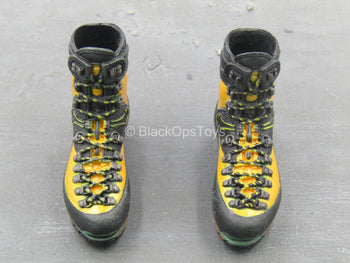 Special Force - Mountain Sniper - Black & Orange Boots (Peg Type)