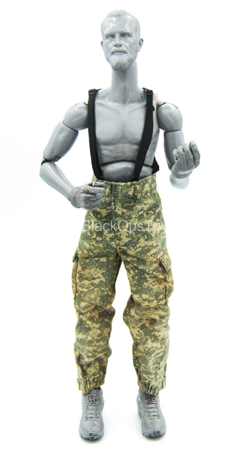 Special Force - Mountain Sniper - ACU Camo Pants w/Suspenders