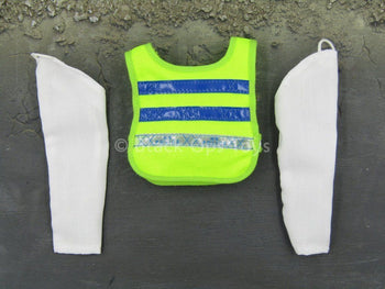 Hong Kong Police Force Escort Group - Neon Green FEG Vest Set