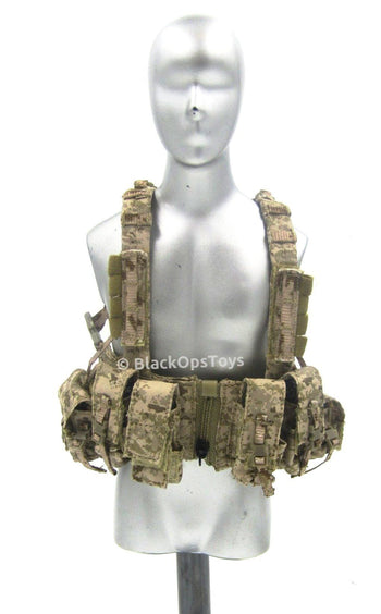 SMU Rescue Team Tandem Halo - AOR1 2586A Triple Pouch Chest Rig