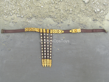 Roman Aquilifer - Brown Belt w/Gold Like Detail