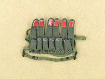 1/12 - Delta Force - Marksman - Six Cell Magazine Chest Rig