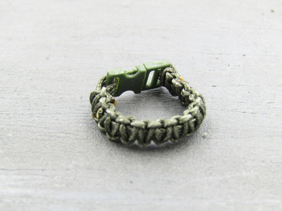PLA Peacekeeping Infantry - Green Paracord Bracelet