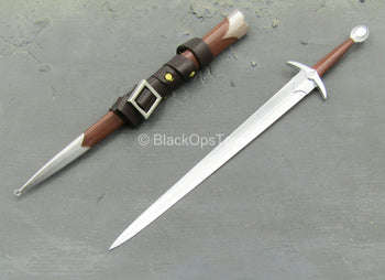 GOT - The Smuggler - Long Sword w/Sheath & Leather-Like Wrap