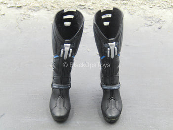 Age of Ultron - Black High Heeled Boots (Peg Type)