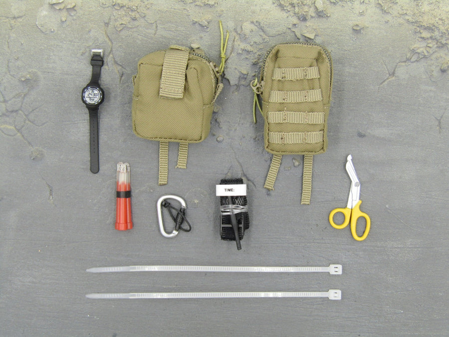 I.S.O.F. - Tan Pouch & Accessory Set