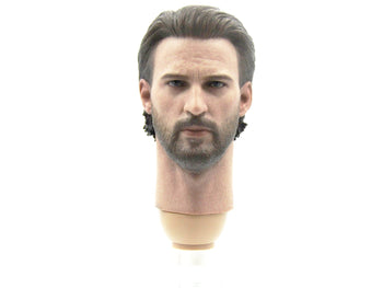 Captain America - Head Sculpt in Chris Evans Likeness