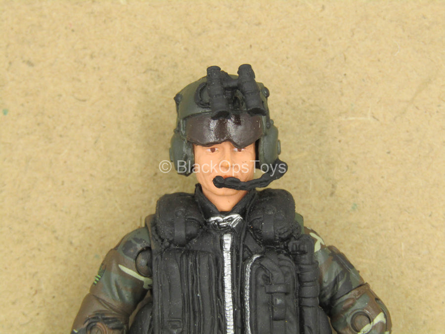 1/18 - SOAR Pilot - Male Molded Body w/M249 Saw & Communication Set