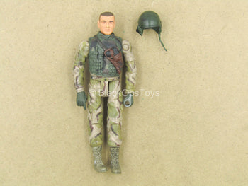 1/18 - Tanker - Male Molded Dressed Body w/Green Helmet
