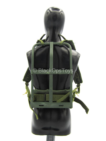 75th Ranger Regiment In Afghanistan - OD Green Backpack Frame
