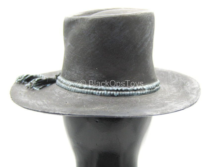 US 2nd Wisconsin Infantry - Black Molded Cowboy Hat
