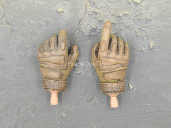 CIA - Male Brown Gloved Hand Set