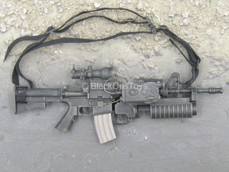 U.S. Army Special Forces Sniper - M-4 Rifle w/M203 Grenade Launcher