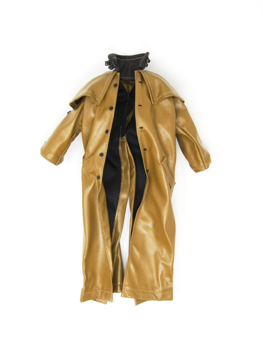 Hellboy Dark Yellow Trench Coat
