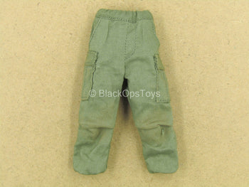 1/12 - Vietnam - US Army 25th Infantry - Green Weathered Pants