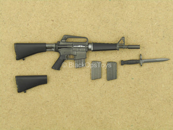 1/12 - Vietnam - US Army 25th Infantry - M16 Rifle w/Bayonet