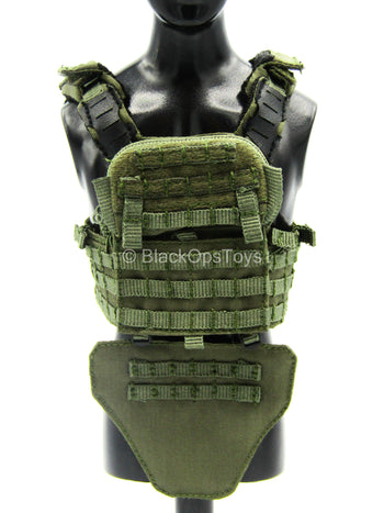 Urban Operation PMC - Green MOLLE Plate Carrier Vest