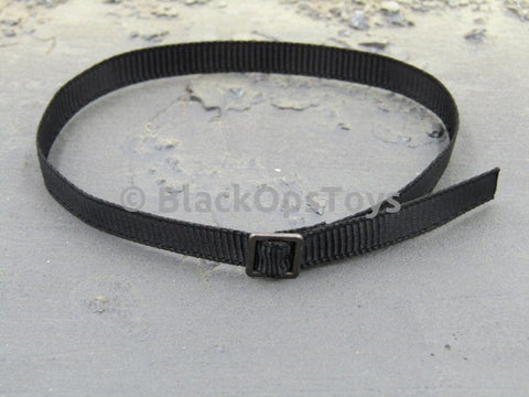 Female Tactical Shooter Black Belt with Metal Buckle
