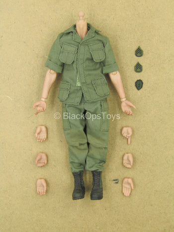 1/12 - Vietnam - US Army Staff Sergeant - Male Dressed Body