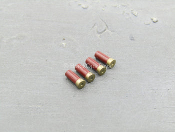 John Matrix - Red Shotgun Shell (x4)