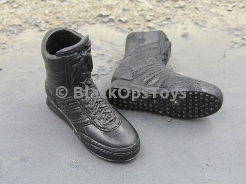Female Tactical Shooter Black Peg Type Adidas Tactical Boots