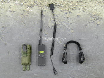 Urban Operation PMC - PRC-14 Radio w/Headset & MOLLE Radio Pouch