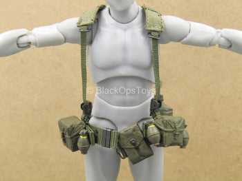 1/12 - Vietnam - US Army Staff Sergeant - Battle Belt w/Suspender