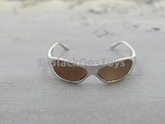 US Navy VBSS Silver Sunglasses