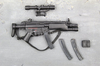 French GIGN - Black MP5 w/Extendable Stock & Accessory Set