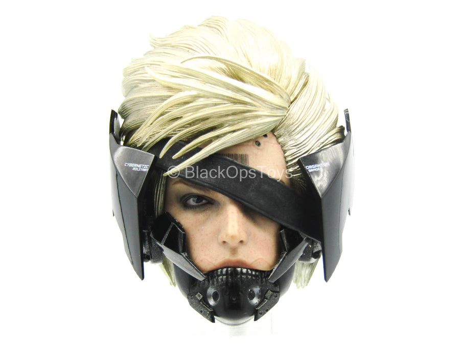 Metal Gear Rising - Male Raiden Head Sculpt w/Visor