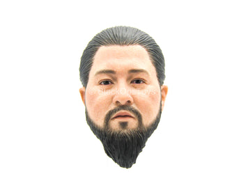 Urban Operation PMC - Asian Male Head Sculpt w/Man Bun