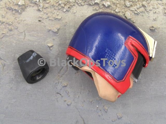 1995 Judge Dredd Metal Helmet & Headsculpt