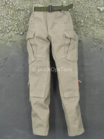 CIA SOG Field Operator - Tan Combat Pants w/Light Sticks