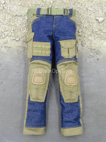 Urban Operation PMC - Combat Pants w/Denim Detail