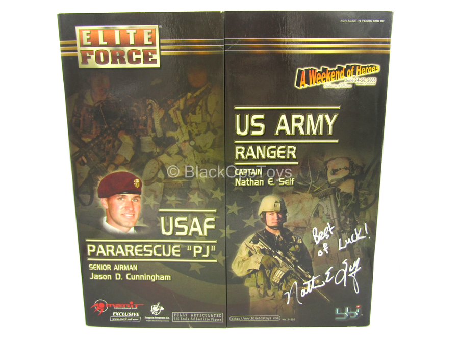 "Signed ""Nathan E. Self"" - US Army Ranger/Pararescue  - MINT IN BOX"
