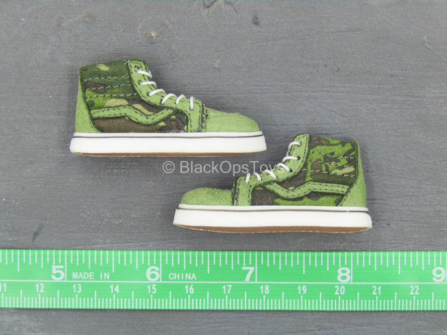Navy Seal - Tropical Multicam SK8 Shoes (Foot Type)