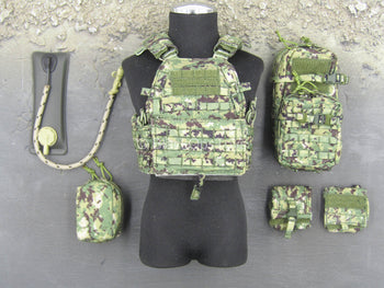 US NSDWG - AOR2 Camo Plate Carrier Vest w/Pouch Set
