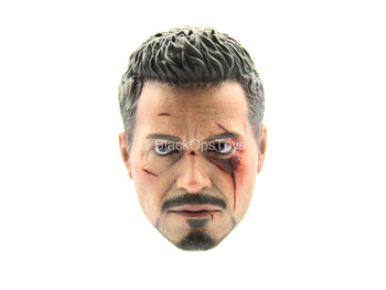 Iron Man 3 - Tony Stark - Head Sculpt w/Robert Downey Jr Likeness