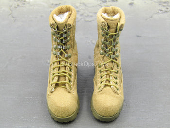 US Army - Tan Combat Boots (Foot Type)